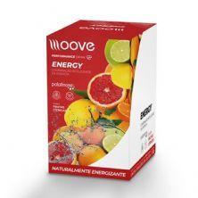 Energy - 12 Envelopes 20g - Frutas Cítricas - Moove Nutrition