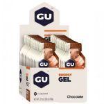 Kit 5 Energy Gel - 24 Sachês 32g Chocolate - GU
