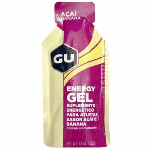 Energy Gel - Sabor Açaí e Banana 1 sachê 32g - GU no Atacado