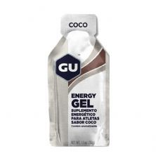 Energy Gel - Sabor Coco 1 Sachês 32g - GU*** Data Venc. 30/01/2020