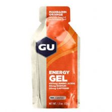 Energy Gel - Sabor Laranja 1 sachês 32g - GU*** Data Venc. 30/04/2018