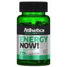 Energy Now Endurance Series - 60 Cápulas - Atlhetica Nutrition