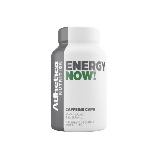 Energy Now - 60 Cápulas - Atlhetica Nutrition no Atacado