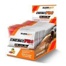 Energy Pro - 15 Sachês 30g Morango com Maracujá - Sudract Nutrition