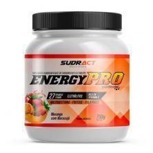 Energy Pro - 750g Morango Com Maracujá - Sudract Nutrition