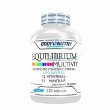 Equilibrium Multivit - 120 Cápsulas - Body Nutry
