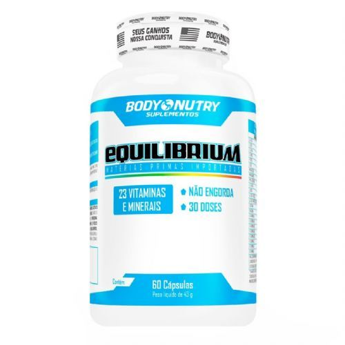 Equilibrium Multivit - 60 Cápsulas - Body Nutry no Atacado