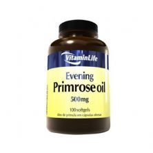 Evening Primrose Oil 500mg Óleo de Prímula - 100 Cápsulas - VitaminLife