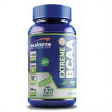 Extreme BCAA - 120 Cápsulas - Solaris Nutrition