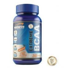 Extreme BCAA - 240 Cápsulas - Solaris Nutrition