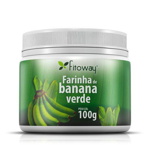 Farinha De Banana Verde - 100G - Fitoway*** Data Venc. 16/11/2017
