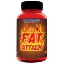 Fat Attack - 120 Cápsula - Bodygenics