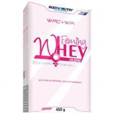Feminy Whey Colágeno - 450g Chocolate - Body Nutry