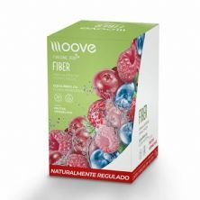 Fiber - 12 Envelopes 10g - Frutas Vermelhas - Moove Nutrition*** Data Venc. 28/02/2021