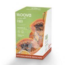 Fiber - 12 Envelopes 10g - Laranja com Mamão - Moove Nutrition