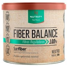 Fiber Balance Vegan - 200g Neutro - Nutrify