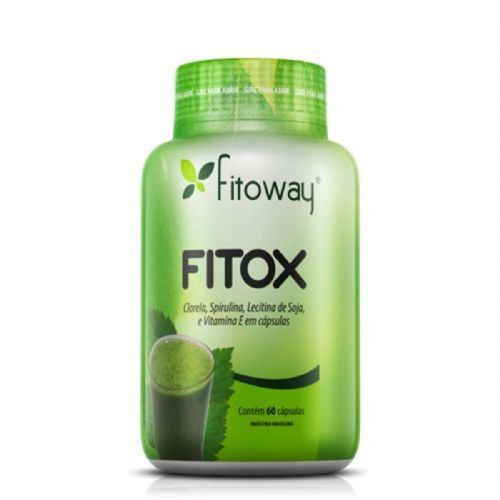 Fitox - 60 Cápsulas - Fitoway no Atacado
