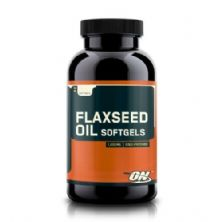 Flaxseed Oil 1000mg - 200 Caps - Optimum Nutrition