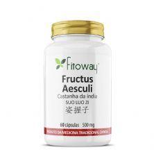 Fructus Aesculi Castanha Da índia - 60 cápsulas - Fitoway