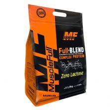 Full Blend Zero Lactose - 1800g Baunilha - Muscle Full