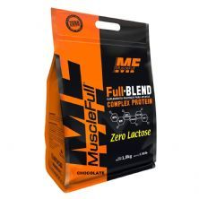 Full Blend Zero Lactose - 1800g Chocolate - Muscle Full