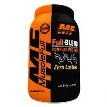 Full Blend Zero Lactose - 810g Baunilha - Muscle Full