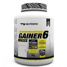 Gainer 6 Mass - 3000g Chocolate - Nutrata