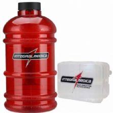Galão Vermelho (2,2 litros) + Porta Cápsulas - IntergralMédica