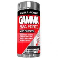 Gamma ZMA Force - 120 Cápsulas - Cell Force