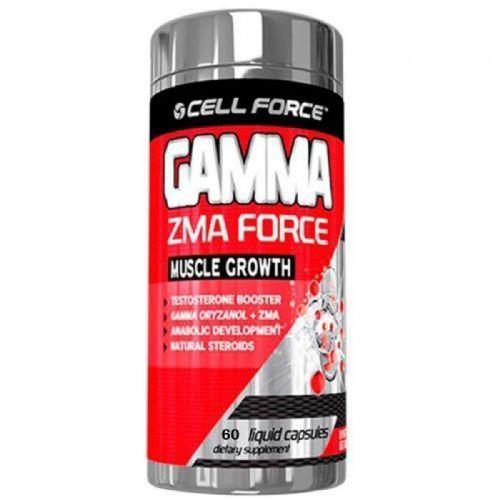 Gamma ZMA Force - 60 Cápsulas - Cell Force no Atacado