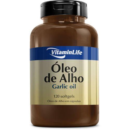 Garlic Oil 250mg - Alicina 120 cápsulas - VitaminLife