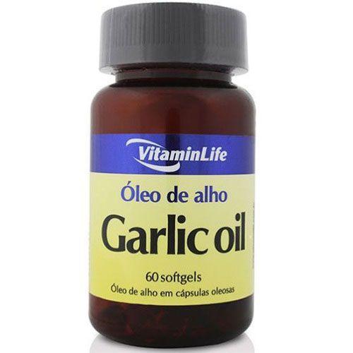 Garlic Oil 250mg - Alicina 60 cápsulas - VitaminLife