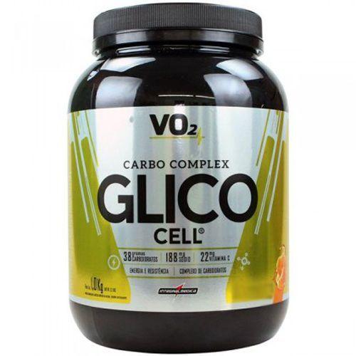 Glico Cell Carbo Complex - 1000g Tangerina - Integralmédica