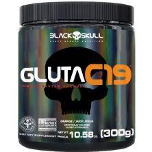 Gluta C19 - 300g Laranja - BlackSkull