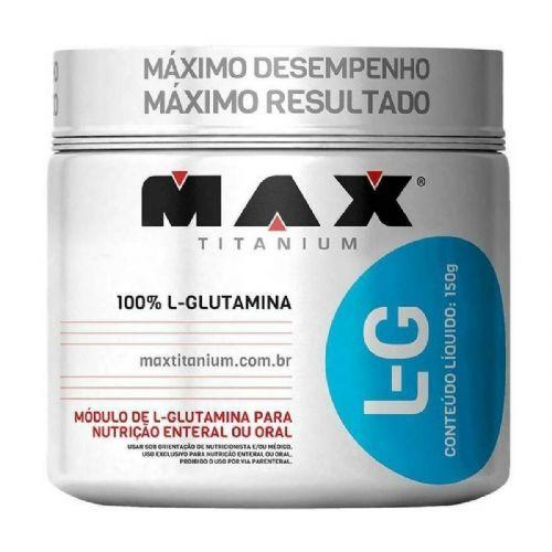 Glutamina L-G - 150g - Max Titanium no Atacado