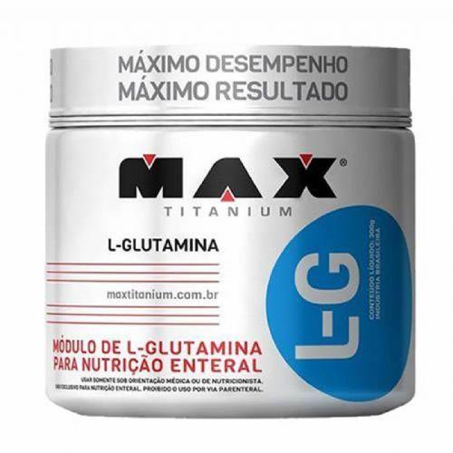 Glutamina L-G - 300g - Max Titanium no Atacado