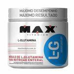 Kit 5 Glutamina L-G - 300g - Max Titanium