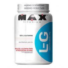 Glutamina L-G - 600g - Max Titanium