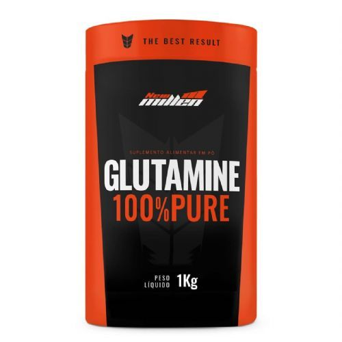 Glutamine 100% Pure - 1000g - New Millen no Atacado