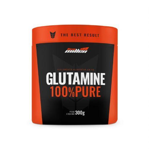 Glutamine 100% Pure - 300g - New Millen no Atacado