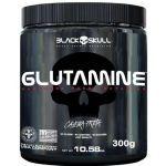 Glutamine - 300g Sem Sabor - Black Skull no Atacado