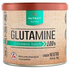 Glutamine Isolada Vegan - 150g Neutro - Nutrify