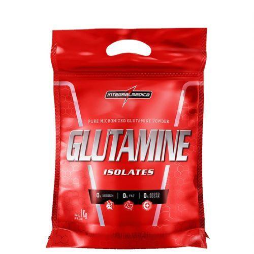 Glutamine Isolates - Refil 1000g - IntegralMédica no Atacado
