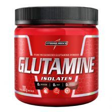 Glutamine Isolates - 300g - IntegralMédica