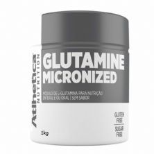 Glutamine Micronized - 1000g - Atlhetica Nutrition*** Data Venc. 04/10/2020