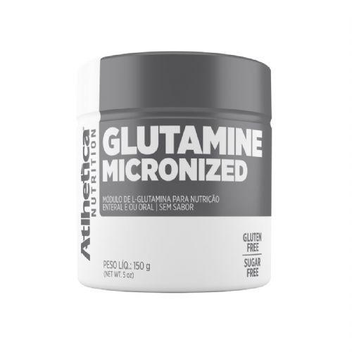 Glutamine Micronized - 150g Sem Sabor - Atlhetica Nutrition no Atacado