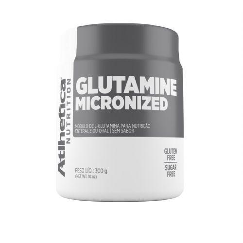 Glutamine Micronized - 300g Glutamina - Atlhetica Nutrition no Atacado
