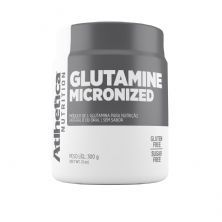 Glutamine Micronized - 300g Glutamina - Atlhetica Nutrition*** Data Venc. 11/10/20