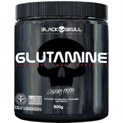 Glutamine - Sem Sabor 500g - Black Skull no Atacado