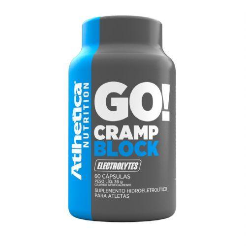 Go Cramp Block Eletrolytes - 60 Cápsulas - Atlhetica Nutrition no Atacado